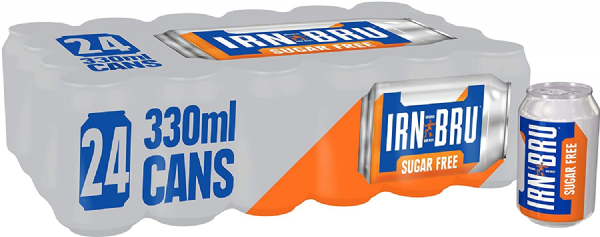 Irn Bru Sugar Free 24x330ml